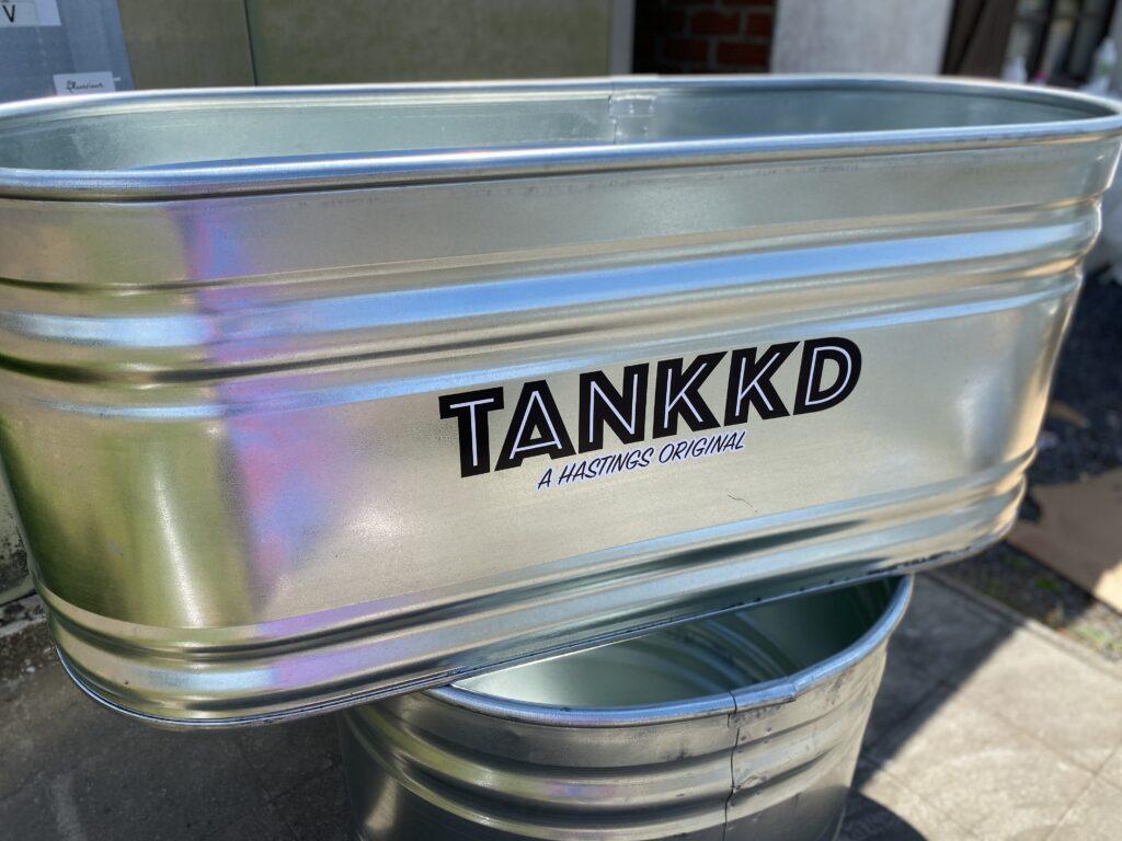 Tankkd logo op Oval stocktank