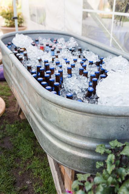 koude drankjes staan in de stocktanks