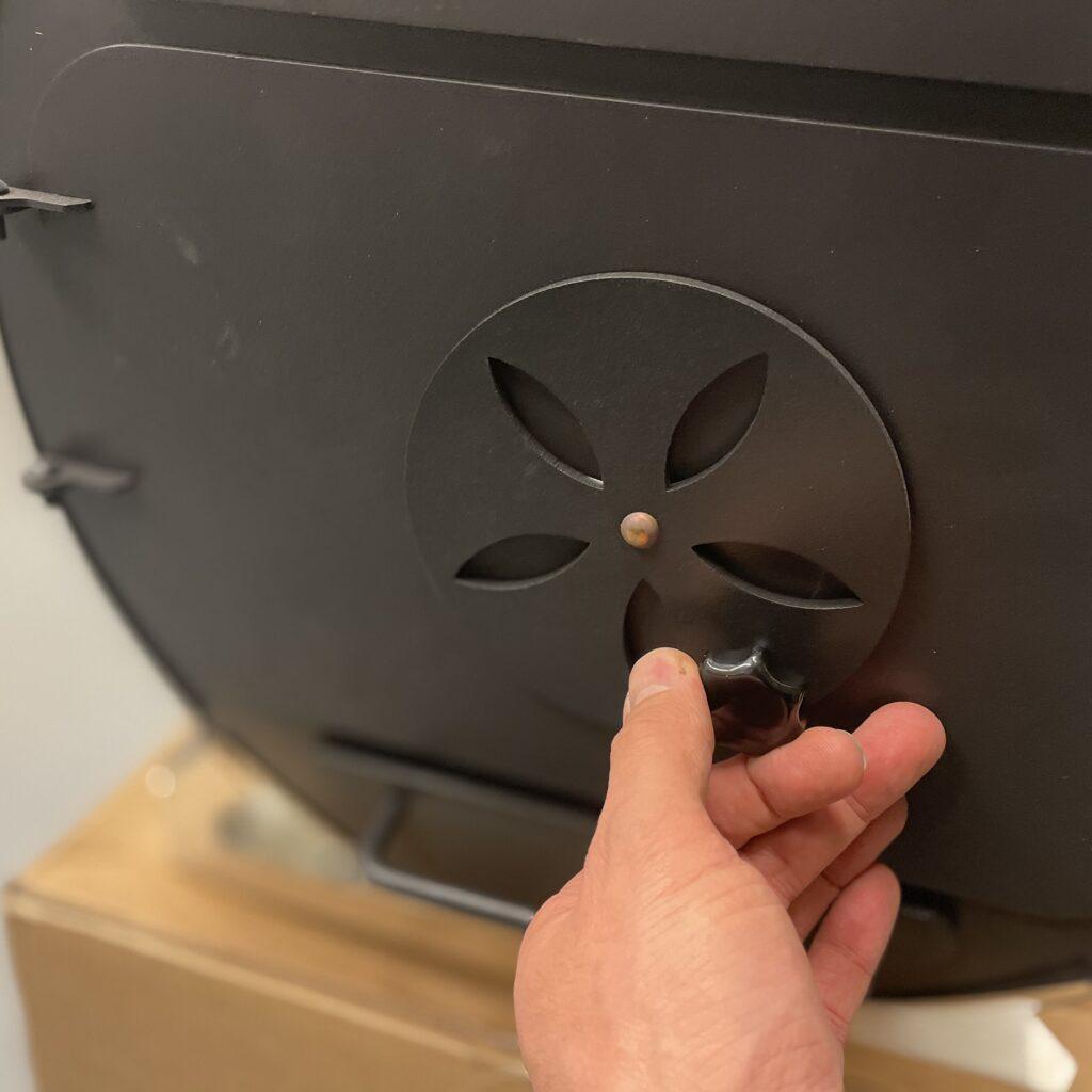 luchttoevoer dicht minder warmte